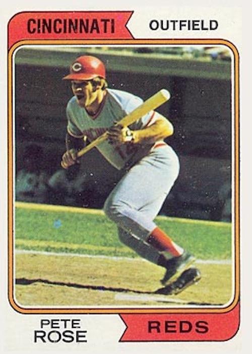 1974 Topps Pete Rose (#300)