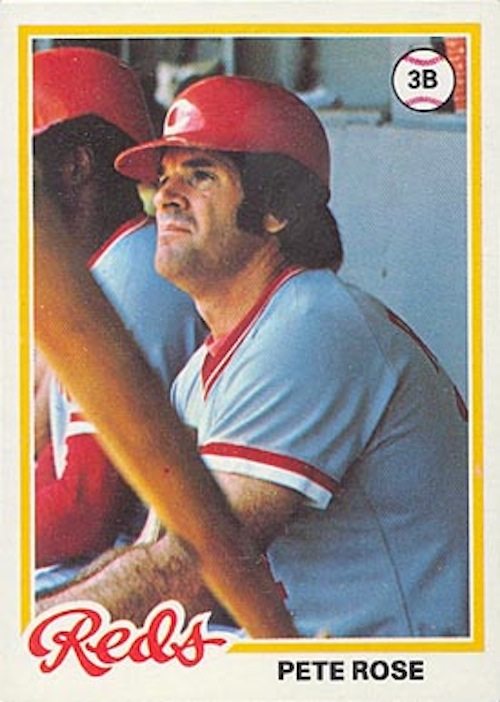 1978 Topps Pete Rose (#20)