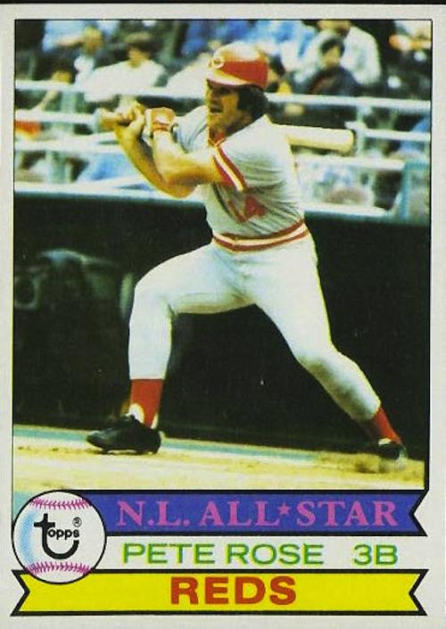 1979 Topps Pete Rose (#650)