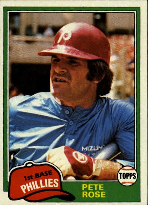 1981 Topps Pete Rose (#180)