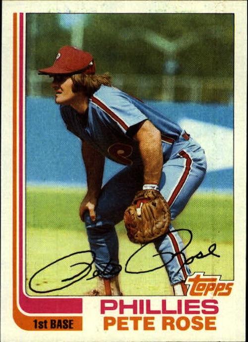 1982 Topps Pete Rose (#780)