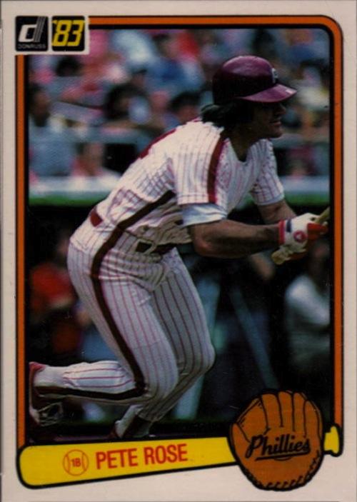 1983 Donruss Pete Rose (#42)