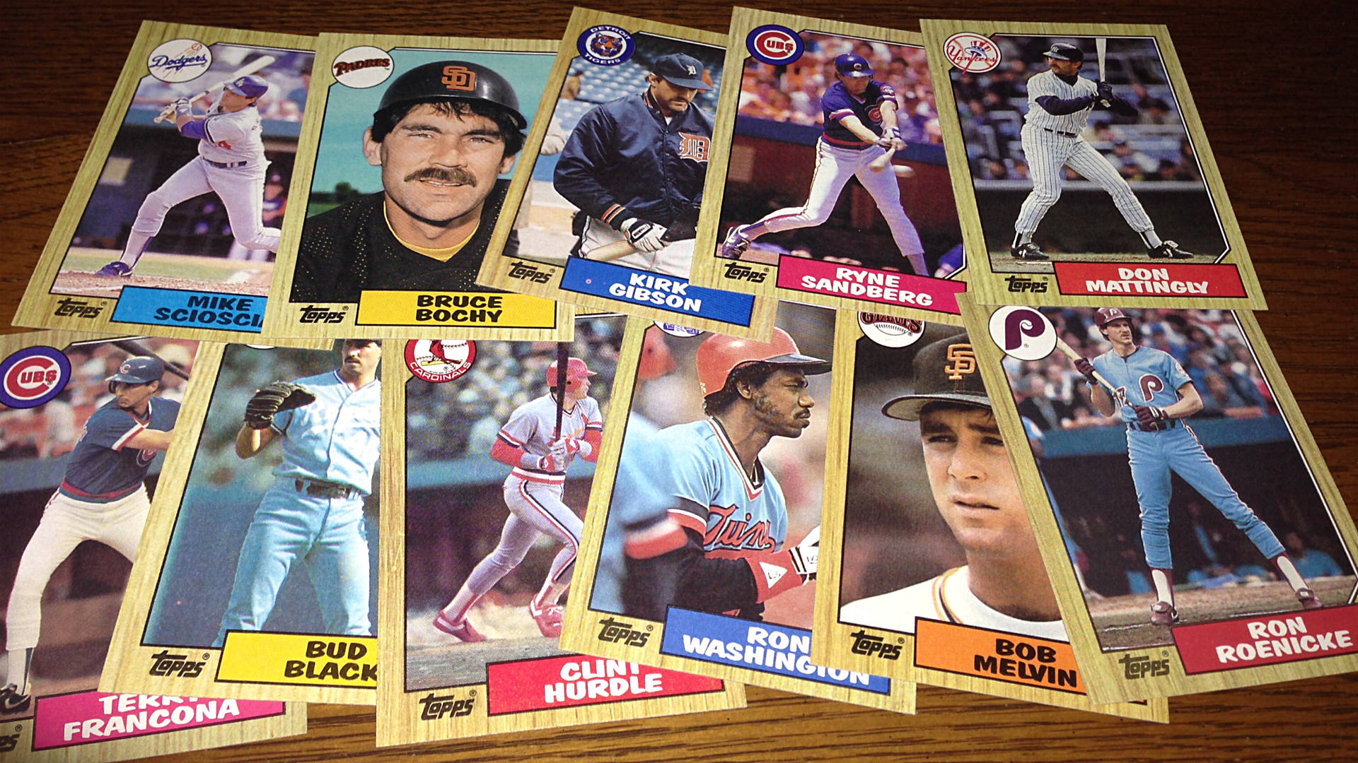 1987 Topps Baseball Cards Checklist