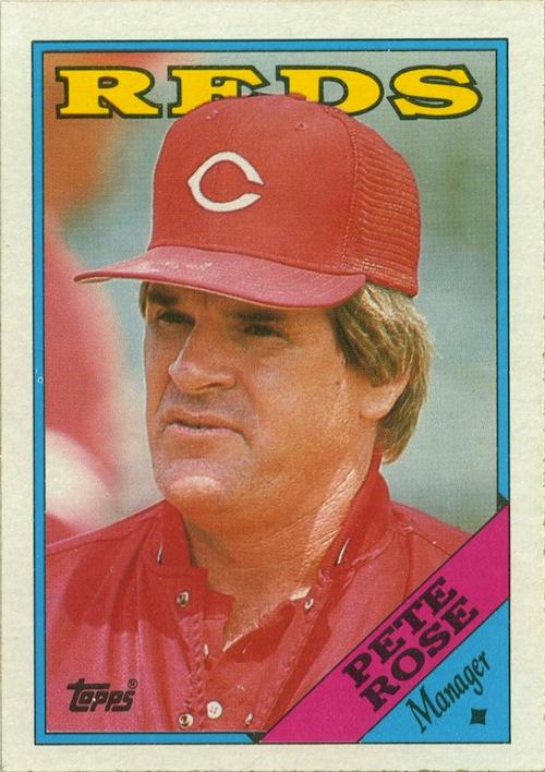 1988 Topps Pete Rose (#475)