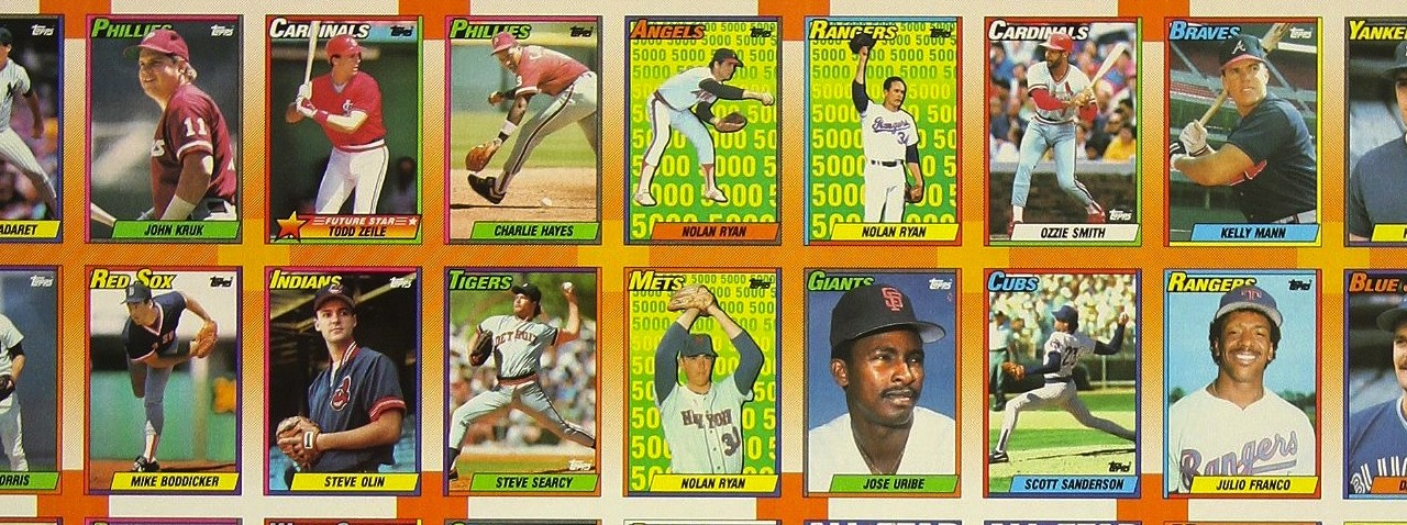 1990 Topps Baseball Cards The Ultimate Collectors Guide