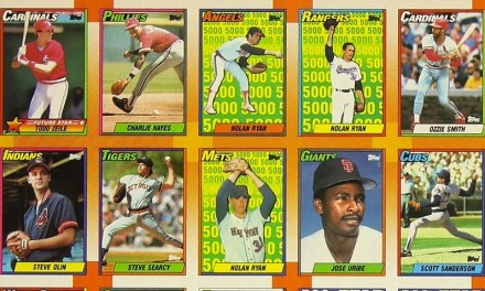 1990 Topps Baseball Cards – The Ultimate Guide