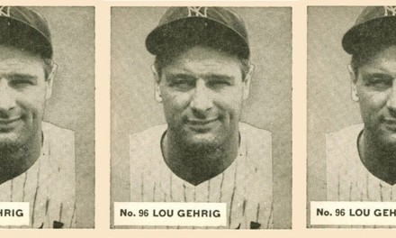 This Lou Gehrig Baseball Card Was The Iron Horse's Last Gum Issue