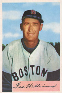 1954-Bowman-Ted-Williams