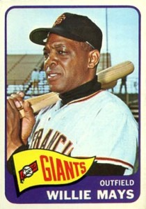 This Oddball Willie Mays Baseball Card Will Get Your Engine Reving