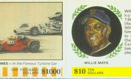 This Oddball Willie Mays Baseball Card Will Get Your Engine Revving