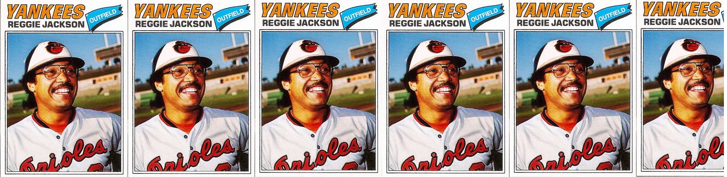 This Reggie Jackson Baseball Card Is Proof That His Lost Season