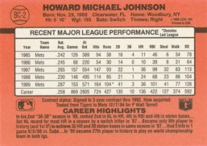 1990-Donruss-Howard-Johnson-Back