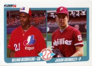 1990-Fleer-DeSheilds-Grimsley