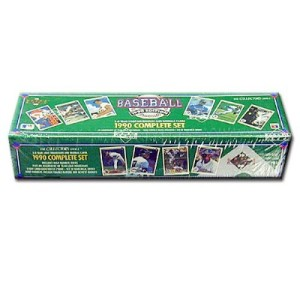 1990 Upper Deck Baseball Cards - Complete Factory Set