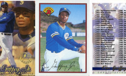 Ken Griffey, Jr., Baseball Cards: The Definitive Guide