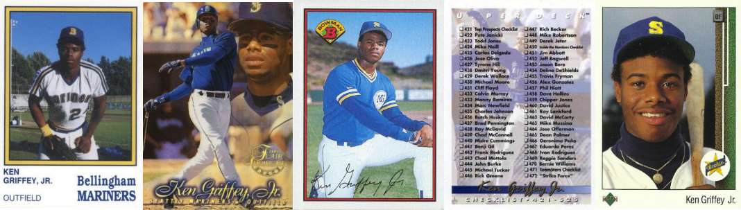 Ken Griffey Jr Baseball Cards The Definitive Guide
