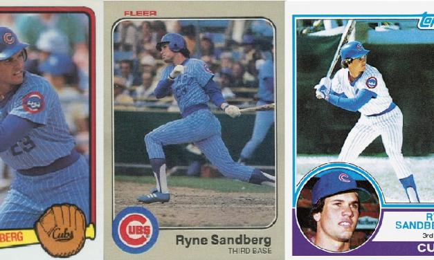 Ryne Sandberg Rookie Card Set Off Treasure Hunt in Summer of 1984