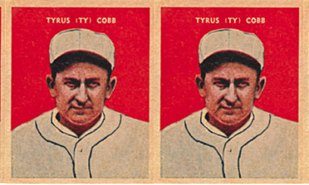 The Forgotten Ty Cobb Baseball Card — When He Was a Baker?