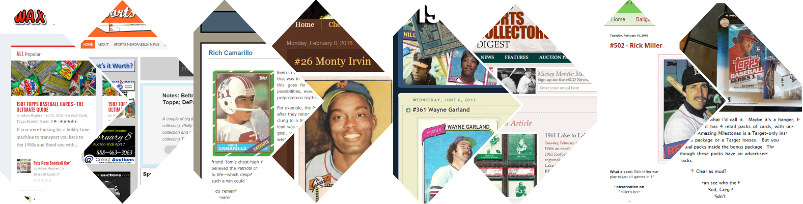 Baseball Card Websites The Ultimate Guide To 450 Of The