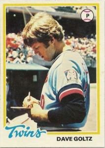 1978 Topps Dave Goltz