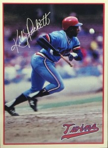 Kirby Puckett Rookie Card Pick Up This Scarce Gem At Your