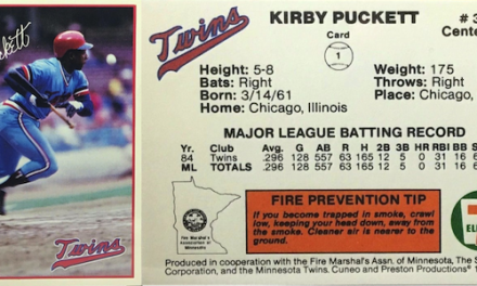 Kirby Puckett Rookie Card – Pick Up This Scarce Gem at Your Convenience (Store?)