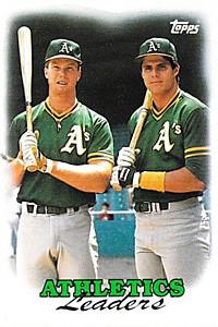 1988-Topps-Oakland-As