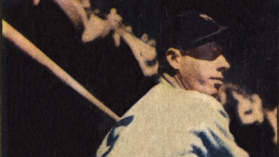 This Joe DiMaggio Baseball Card Was Last of Storied Career