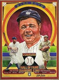 1982 Donruss Babe Ruth Puzzle