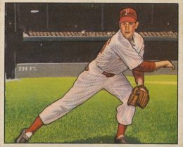 1950 Bowman Robin Roberts