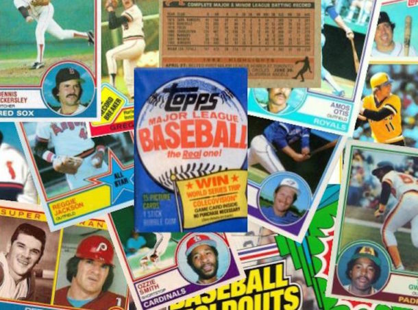 1983 Topps Baseball Featured Image Background