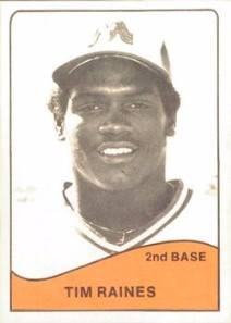 1979 TCMA Memphis Chicks Tim Raines