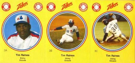 1982 Zellers Tim Raines
