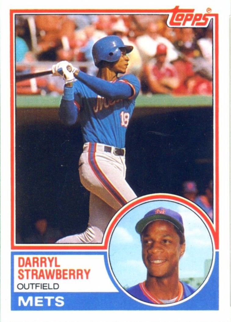 1983 Topps Traded Darry aStrawberry