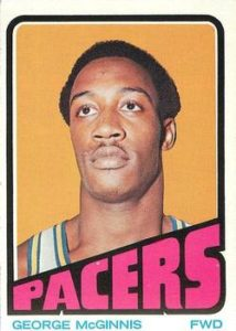1972-73 Topps George McGinnis Rookie Card