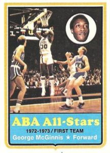 1973-74 Topps George McGinnis All-Star