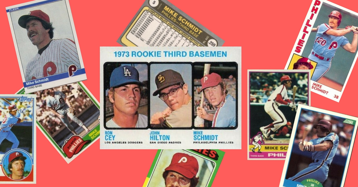44 Mike Schmidt Baseball Cards To Celebrate Mlbs Greatest