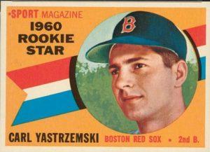 1960 Topps Carl Yastrzemski