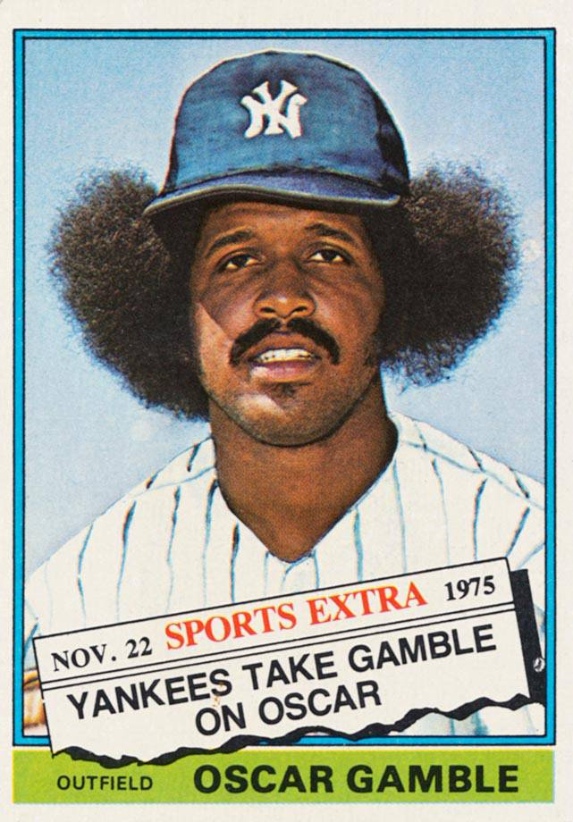 1976 Topps Traded Oscar Gamble