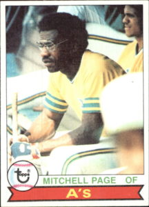 1979 Topps Mitchell Page (#295)