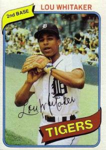 1980 Topps Lou Whitaker