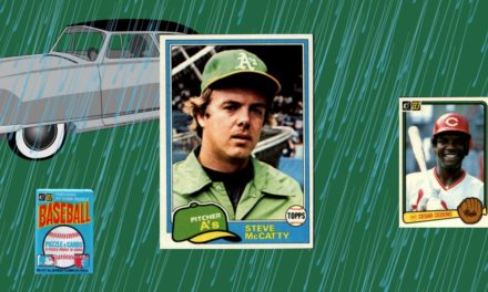 How the 1981 Topps Steve McCatty Card Almost Ruined the Hobby
