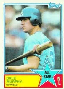 1983 Topps Dale Murphy