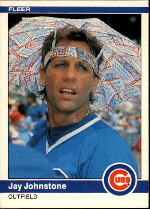1984 Fleer Jay Johnstone