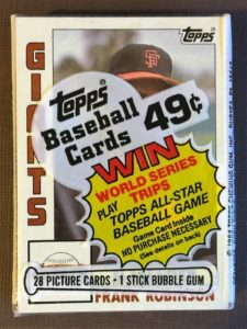 1984 Topps Baseball Cards Cello Pack