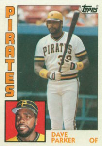 1984 Topps Dave Parker