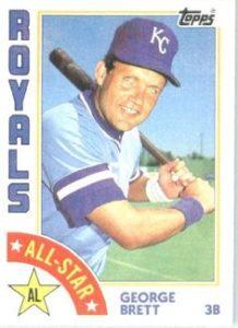 1984 Topps George Brett All-Star