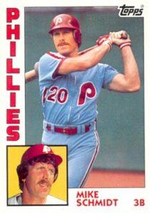 1984 Topps Mike Schmidt