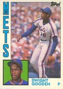 1984 Topps Traded Dwight Gooden