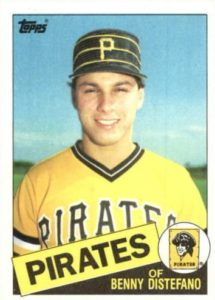 Why The 1985 Topps Benny Distefano Rookie Card Is So